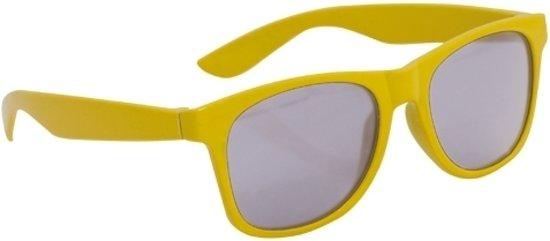a8978d5f3f0d9a Gele kinder feest- en zonnebril wayfarer