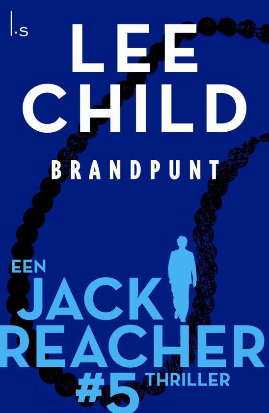 Boekomslag voor Jack Reacher 5 - Brandpunt