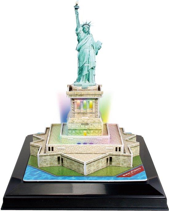 3D Puzzel Statue of Liberty LED (37)