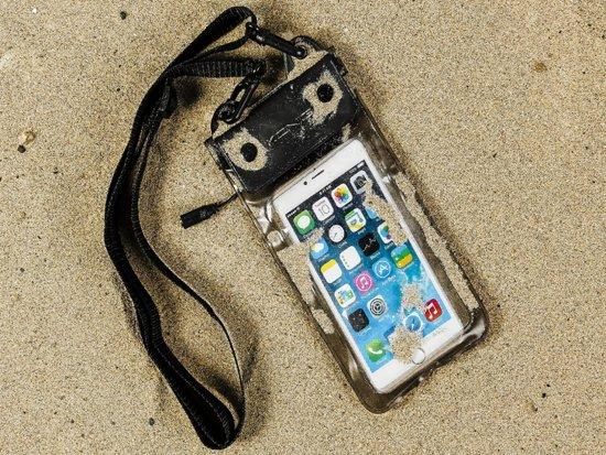 Waterdichte telefoonhoes voor Wiko Rainbow Lite met audio / koptelefoon doorgang, zwart , merk i12Cover in Kerkeind