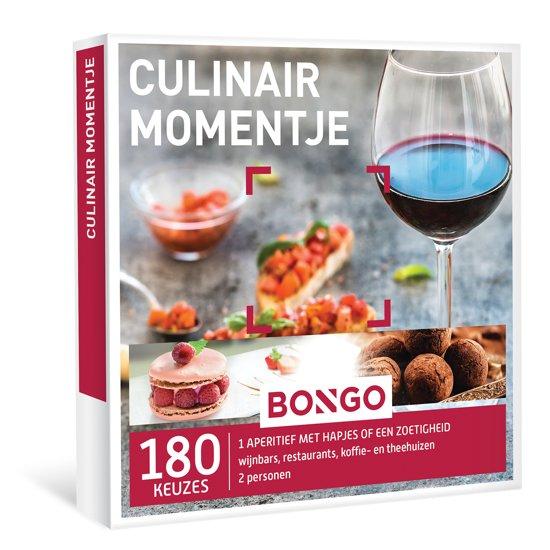 BONGO - Culinair Momentje - Cadeaubon