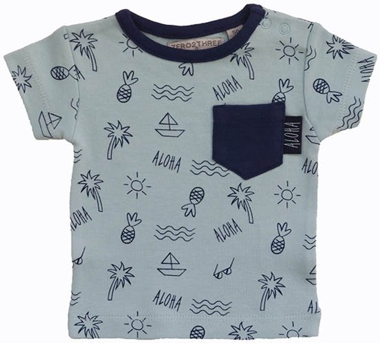 Babykleding Jongen Maat 62.Bol Com Zero2three Babykleding Jongens T Shirt Maat 62
