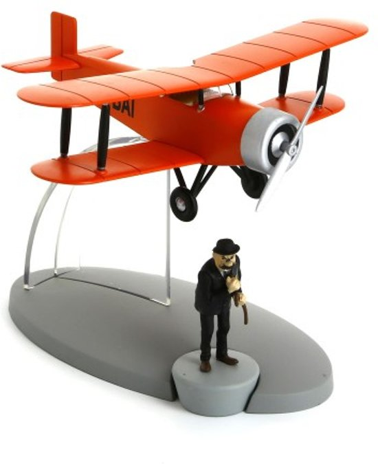 Kuifje vliegtuig - De acrobatische tweedekker
