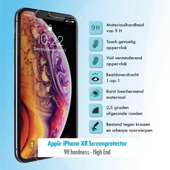 Afbeelding van Budget Compatible Apple iPhone XR screen protector Tempered Glass