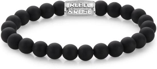 Rebel&Rose armband - Mad Panther - 8MM M (17,5CM)