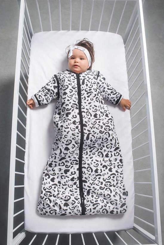 Jollein Leopard Padded Babyslaapzak met afritsbare mouw - 70cm