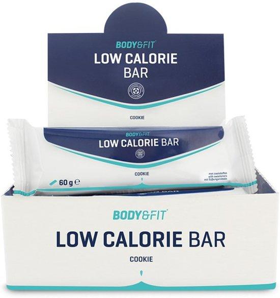 Body & Fit Low Calorie Bars - Maaltijdvervangende eiwitreep - 1 box (12 eiwitrepen) - Cookie