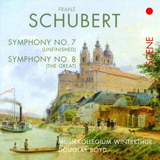 Symphonies No.7 D759 & No.8 D944