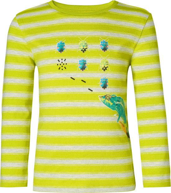 Noppies Shirt Kerman - Lime - Maat 80