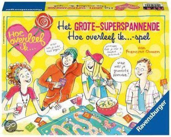 Ravensburger Het grote-superspannende Hoe overleef ik...-spel