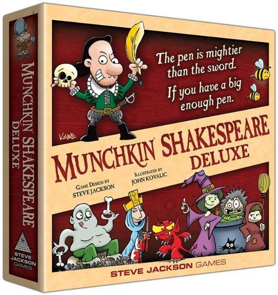 Afbeelding van het spel Munchkin Shakespeare Deluxe