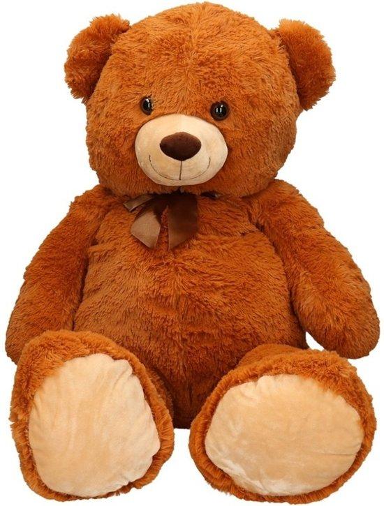 b92a41c48e7b9c bol.com | Grote beren knuffel bruin 100 cm, Merkloos | Speelgoed