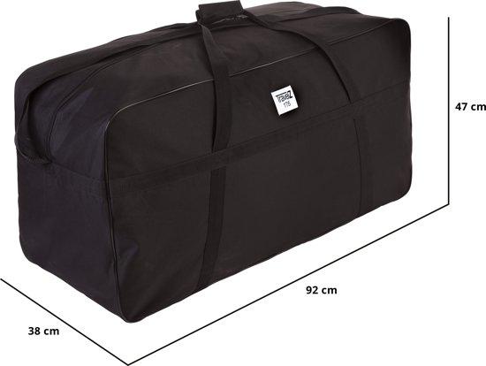 Grote Tas Geblokt : Bol grote zwarte xxl tas liter travelz zwart