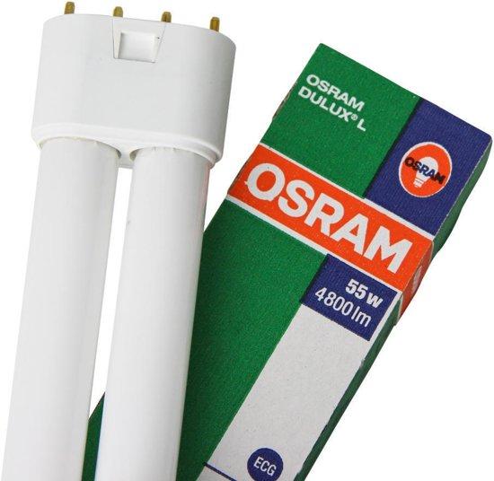 Osram Dulux Lumilux Spaarlamp - 2G11 - 55W