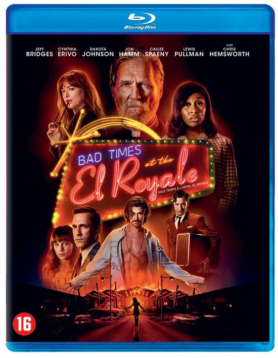 DVD cover van Bad Times At The El Royale (Blu-ray)