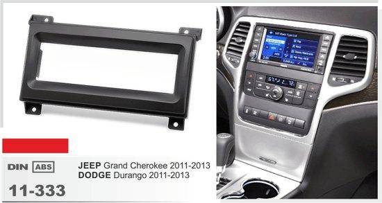 1-DIN JEEP Grand Cherokee 2011-2013 / DODGE Durango 2011-2013 frame Audiovolt 11-333