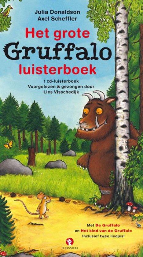 Cover van het boek 'Het grote Gruffalo luisterboek' van Julia Donaldson