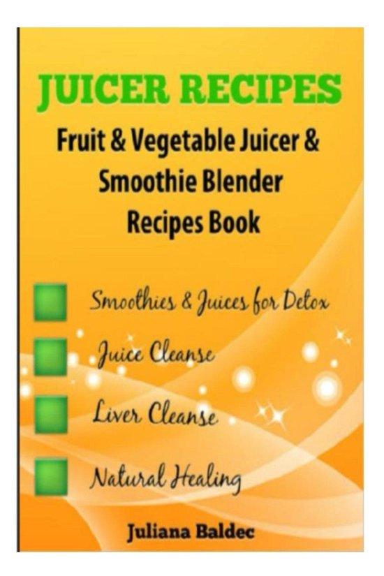 bol com | Juicer Recipes Fruit & Vegetable Juicer & Smoothie