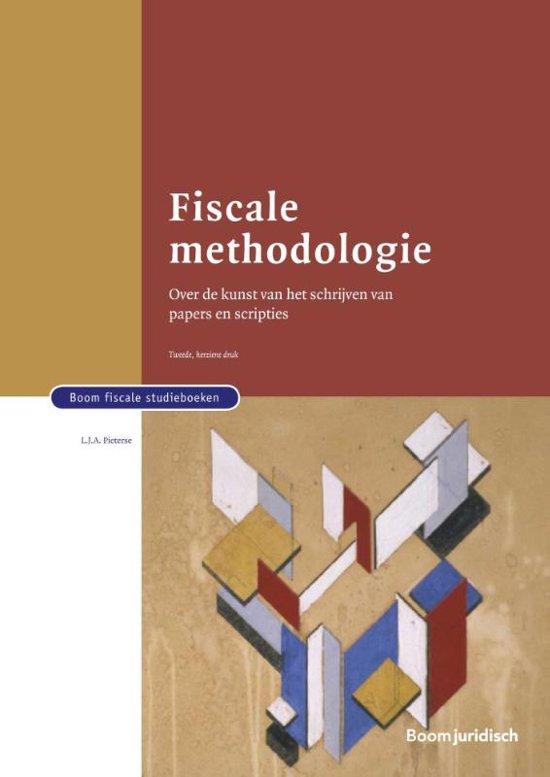 Boom fiscale studieboeken Fiscale methodologie