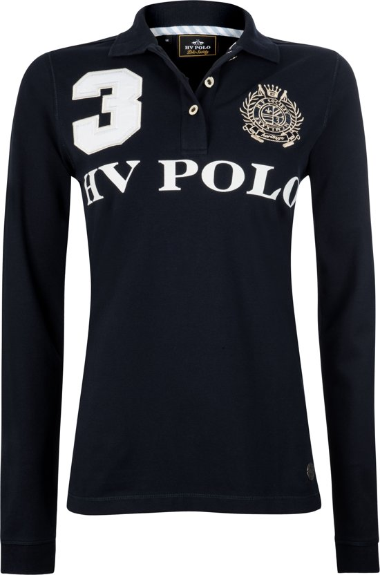 HV Polo Favouritas Eques LS - Polo Shirt - Navy - M