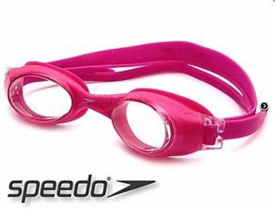 8e6a09cb87169f bol.com | Speedo Zwembril Rapide - Zwart/Roze/Blauw - Anti Fog - Junior