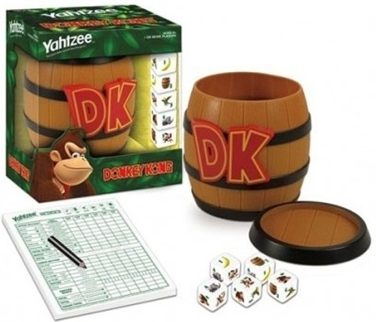 Afbeelding van het spel Donkey Kong Yahtzee Collectors Edition