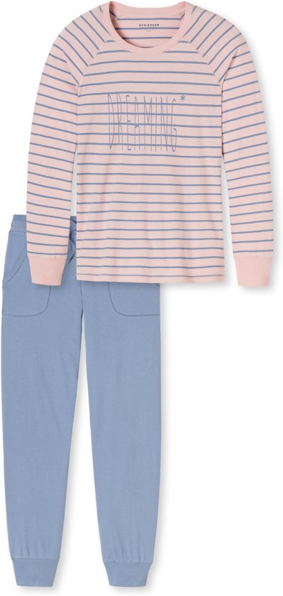 29bbbced5e9 bol.com | Schiesser dames pyjama streep (154039)