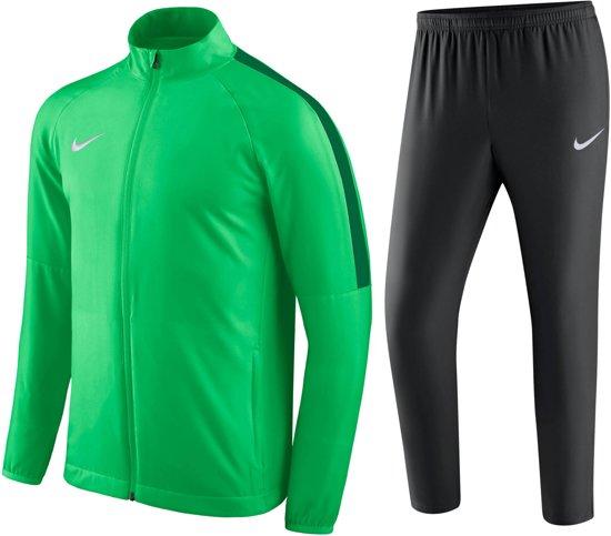 Nike Academy 18 Trainingspak Heren Maat L GroenZwart