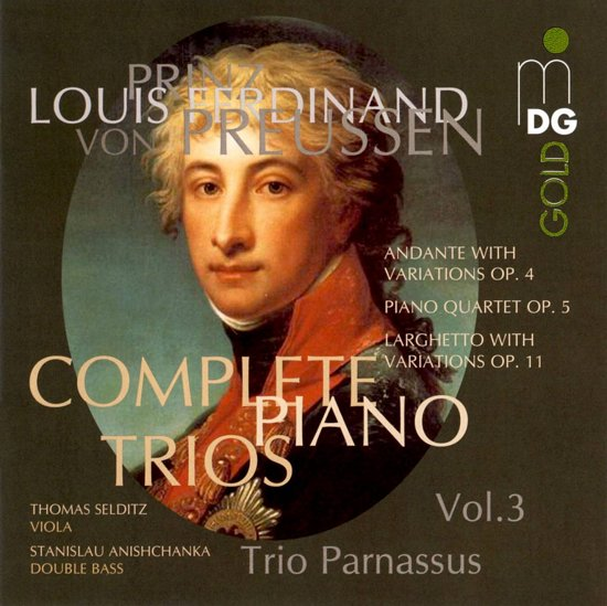 Complete Piano Trios Vol.3: Larghet