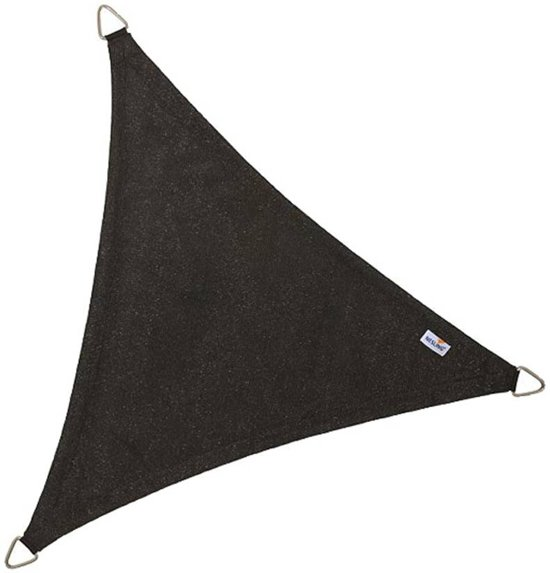 Nesling - Schaduwdoek Driehoek - 5 m - Black