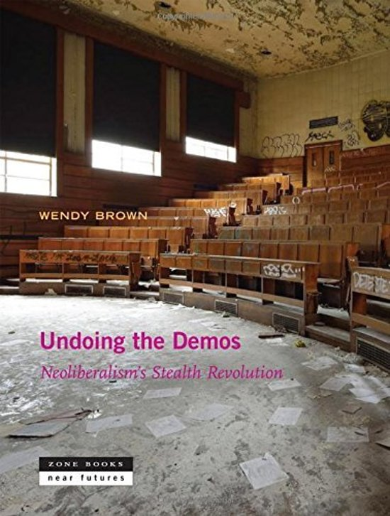 Boek cover Undoing the Demos van Wendy Brown (Hardcover)