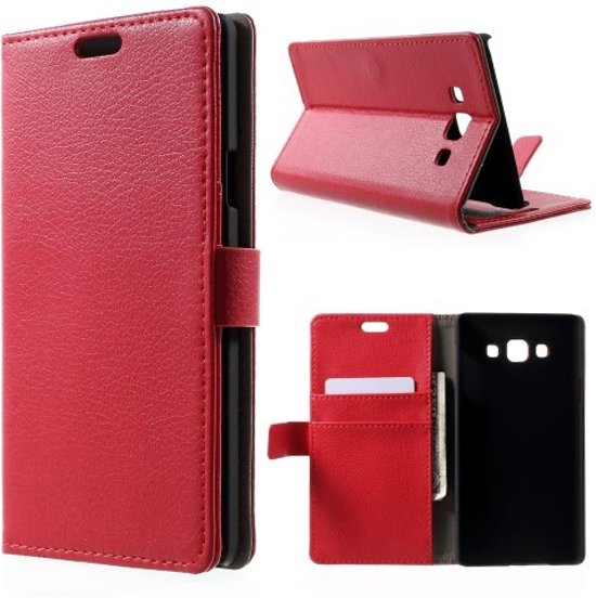 bbb4985f267 bol.com | Litchi wallet hoesje Samsung Galaxy Core 2 rood