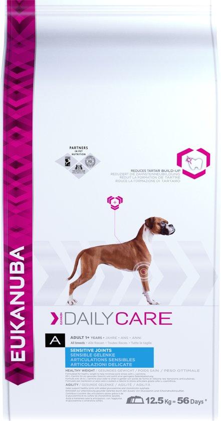 Eukanuba Dog Adult - Medium Breed - Daily Care Sensitive Joints - 12 kg