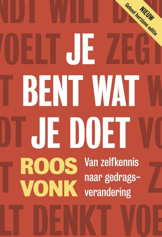 db85f087f67 bol.com | Je bent wat je doet, Roos Vonk | 9789492493460 | Boeken