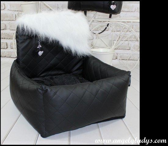 Autostoel voor honden Cosy Car Deluxe Angel & Gladys Galactica 55x45x25/50cm
