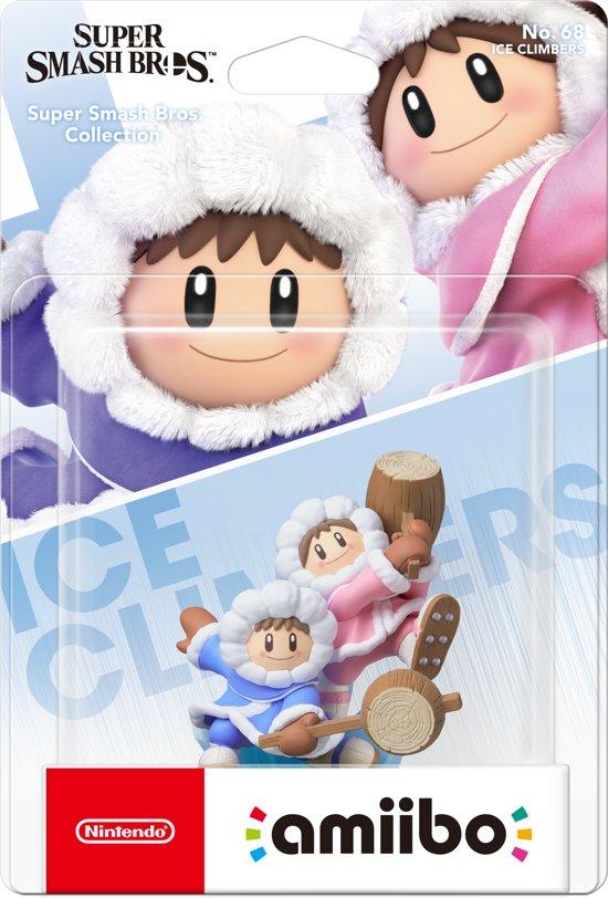 Cover van de game Amiibo, Ice Climber (Super Smash Bros. Series)