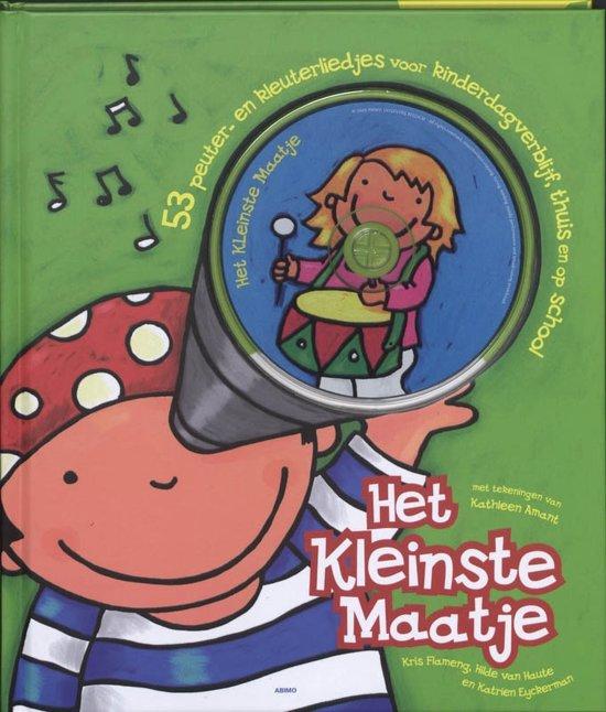 Cover van het boek 'Het kleinste maatje + CD' van Katrien Eyckerman