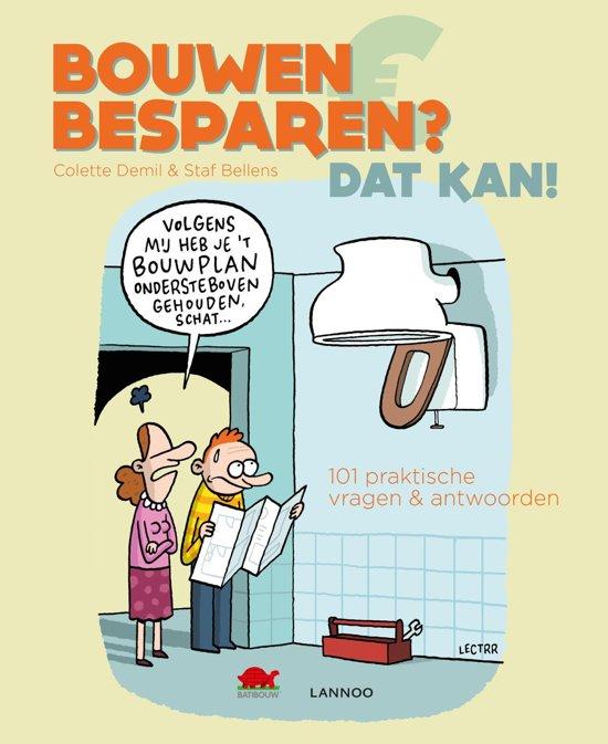 Boek cover Bouwen en besparen? Dat kan! van Colette Demil (Onbekend)