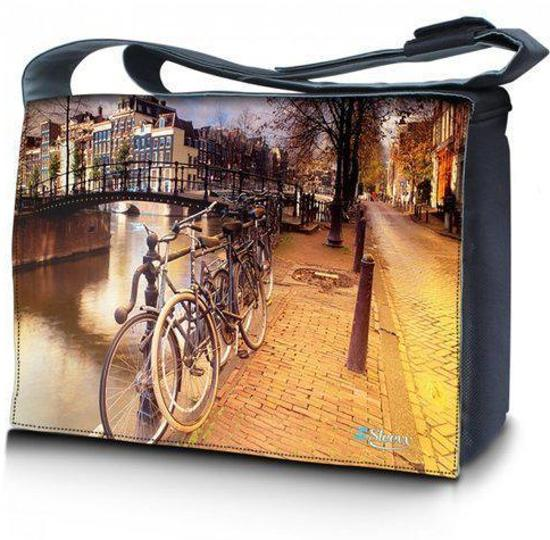 Sleevy 17,3 laptoptas / messengertas Amsterdam