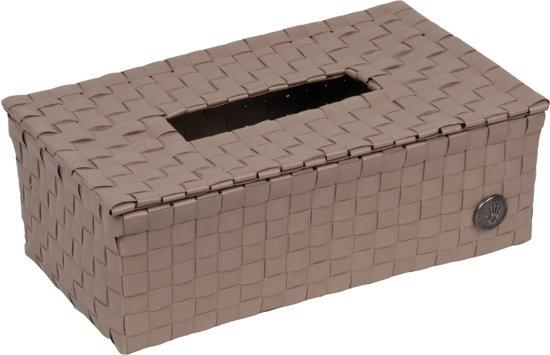 Handed By Luzzi - Tissue box  - Licht bruin