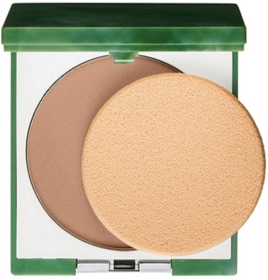 Clinique Stay Matte Sheer Pressed Powder Oil Free - 17 Stay Golden - Make-up poeder