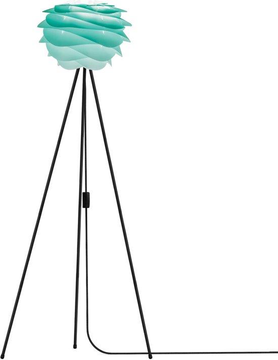 VITA Carmina Vloerlamp - Ø32 - Turquoise - incl. zwarte voet