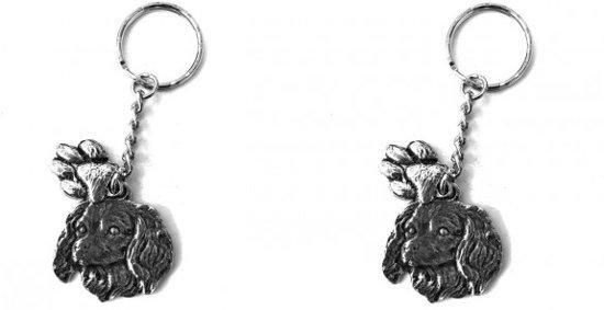 2 Sleutelhangers Kooikerhondjes - Kooikerhond - Hondenpootjes