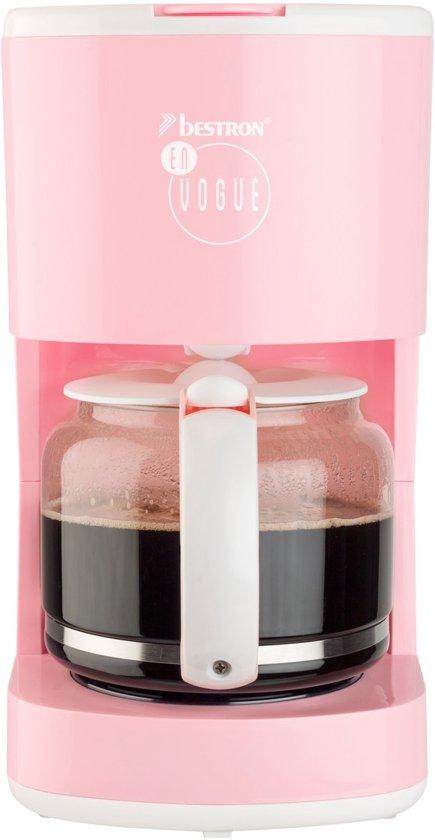 Bestron Koffiezetapparaat1080 W roze ACM300EVP