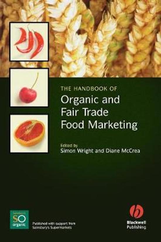 The Handbook of Organic and Fairtrade Food Marketing