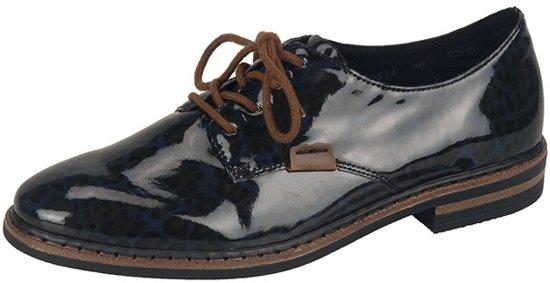 Marine Dentelle Chaussures Rieker Khxn6Wz