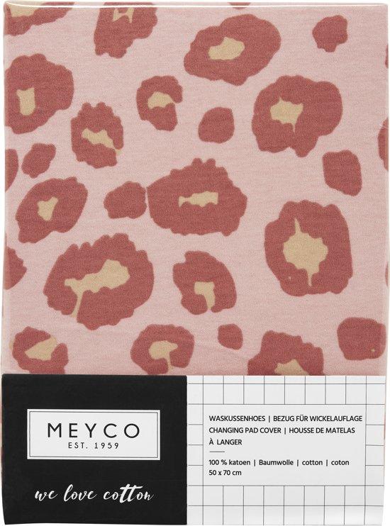 Meyco Panter Aankleedkussenhoes - roze