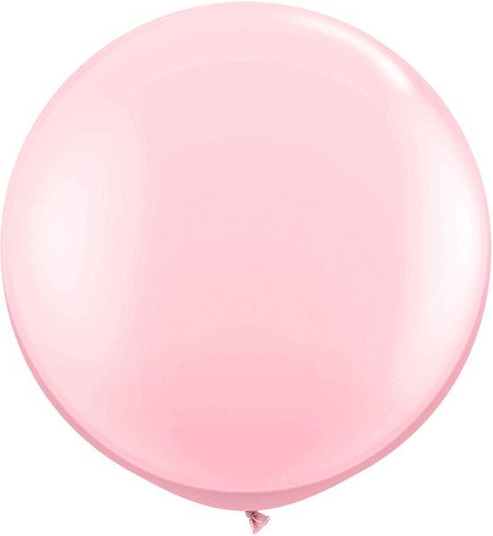 Roze ballon XL - 90cm