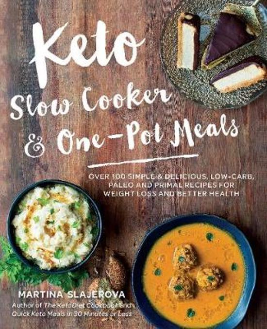 Boek cover Keto Slow Cooker & One-Pot Meals van Martina Slajerova (Paperback)