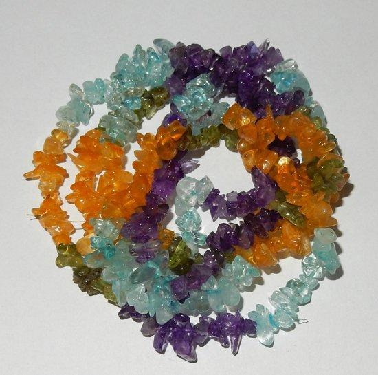 Splitcollier van  Multicolor
